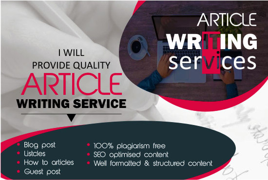 I will be your Personal SEO article and blog writer