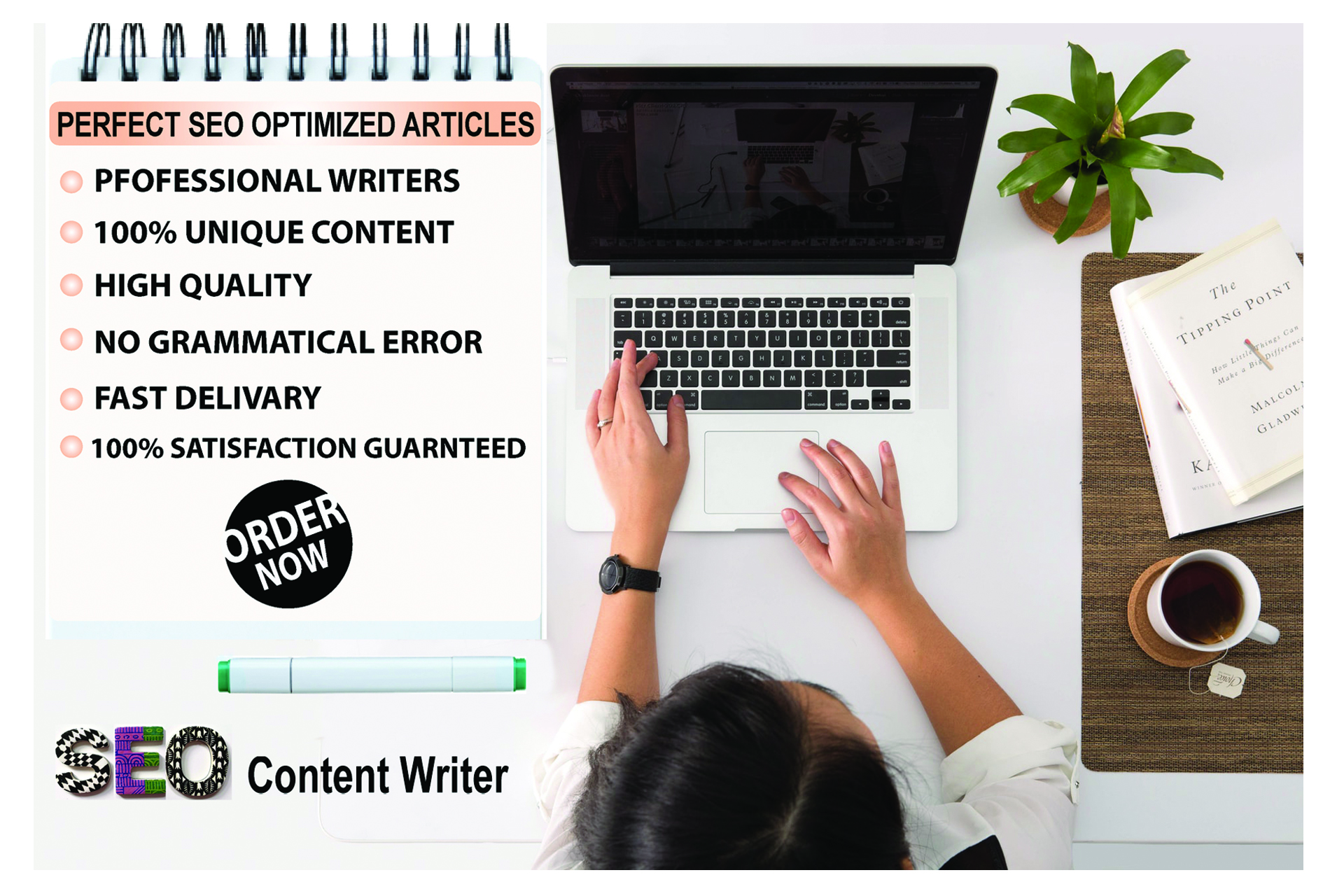 I Will Write Perfect SEO Optimized Content 600 to 1000 Unique Words For Your Website or Blog