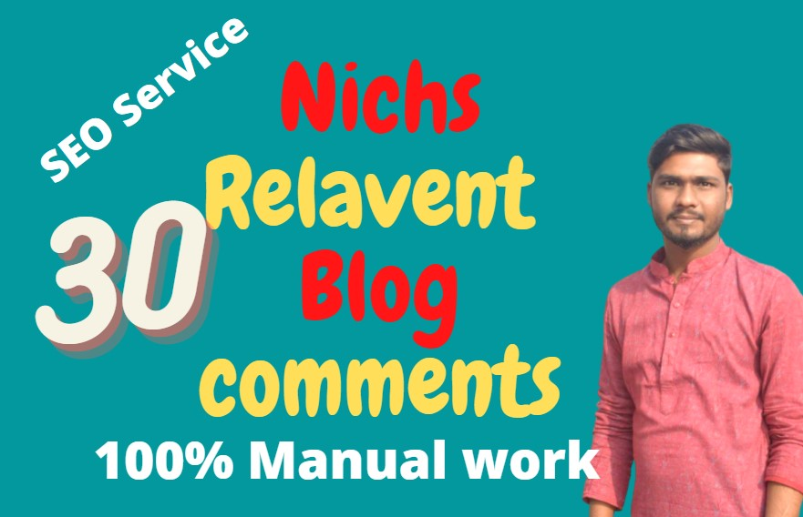 I will create Blog comment according to relevant niches