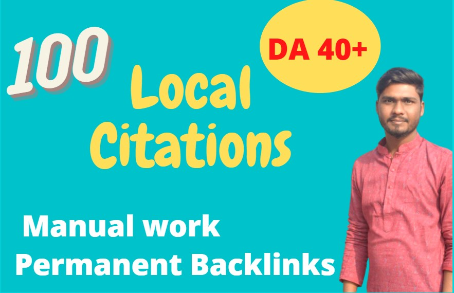 I will Create Local Citations up to 100 directories