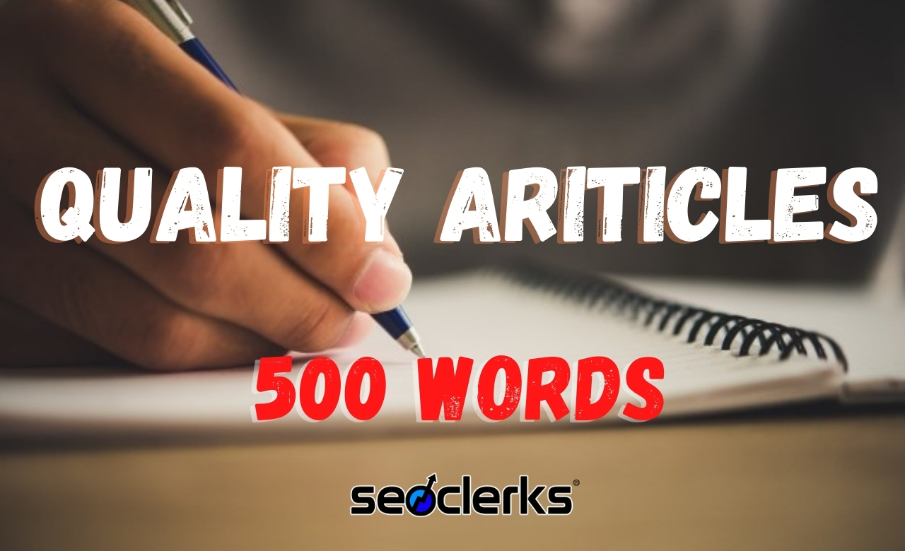 I will write a 800-1000 Words Unique Article for SEO optimization