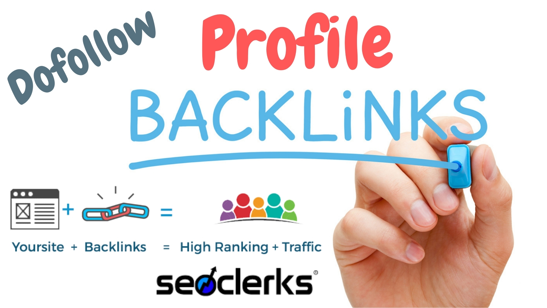 Create 100 High DA Profile Backlinks for SEO Ranking