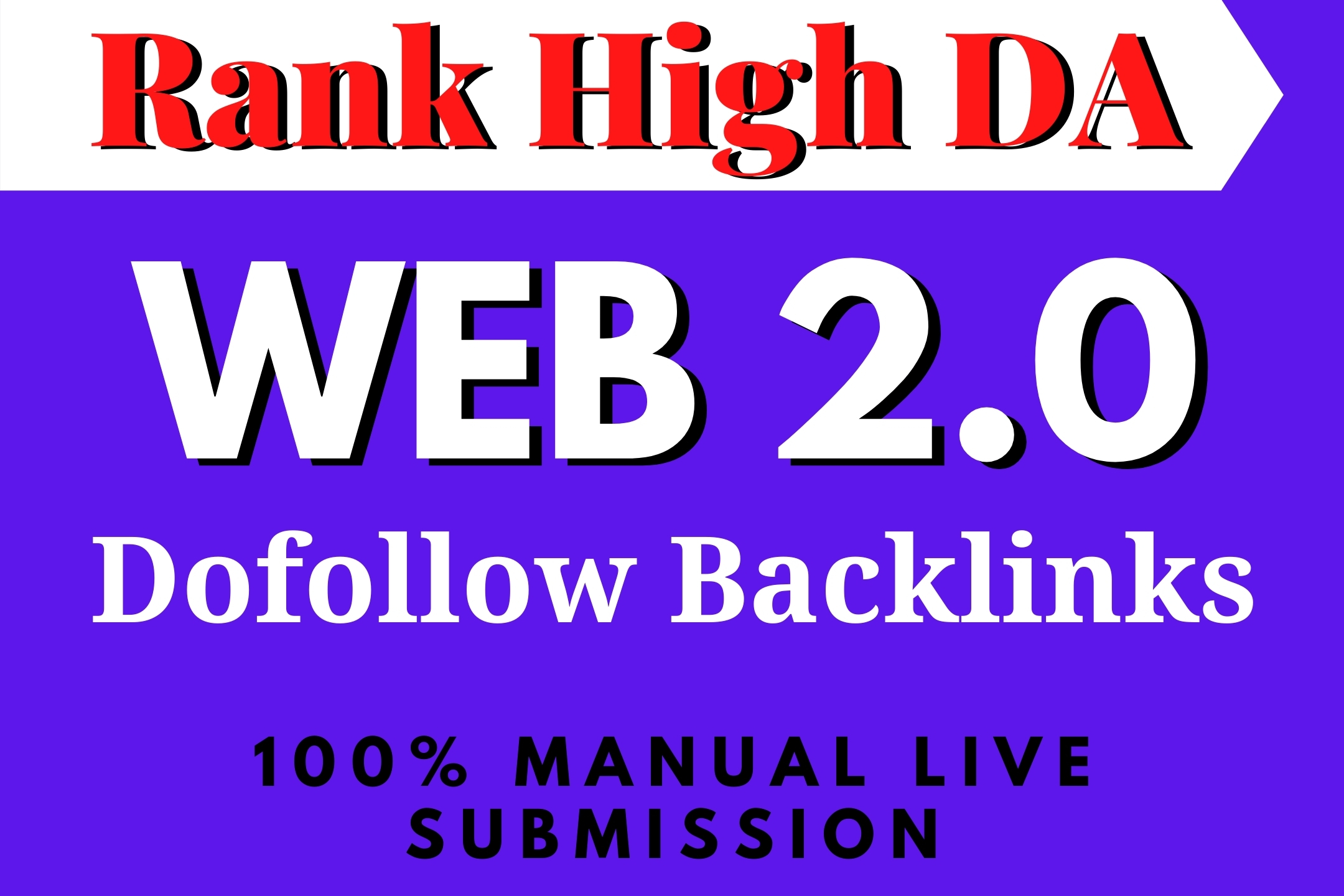 I will rank High DA 30 Web2 0 Backlinks SEO on Google