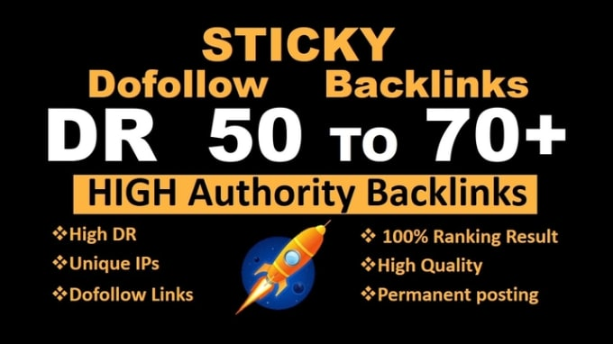 I will make 70 DR 50 to 70plus high quality white hat pbn seo backlink service