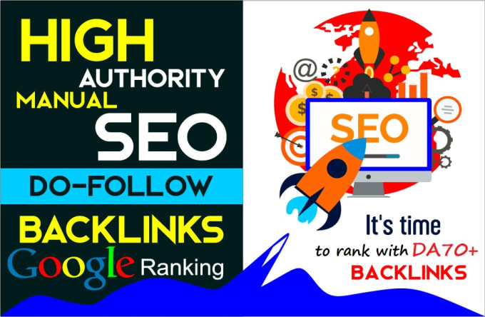 i will create 50 high authority manual seo dofollow backlinks