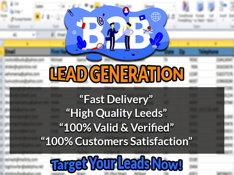 I Will Do 100 B2B Lead Generation For Your Targeted Business