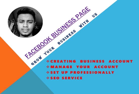 Create a business page for you