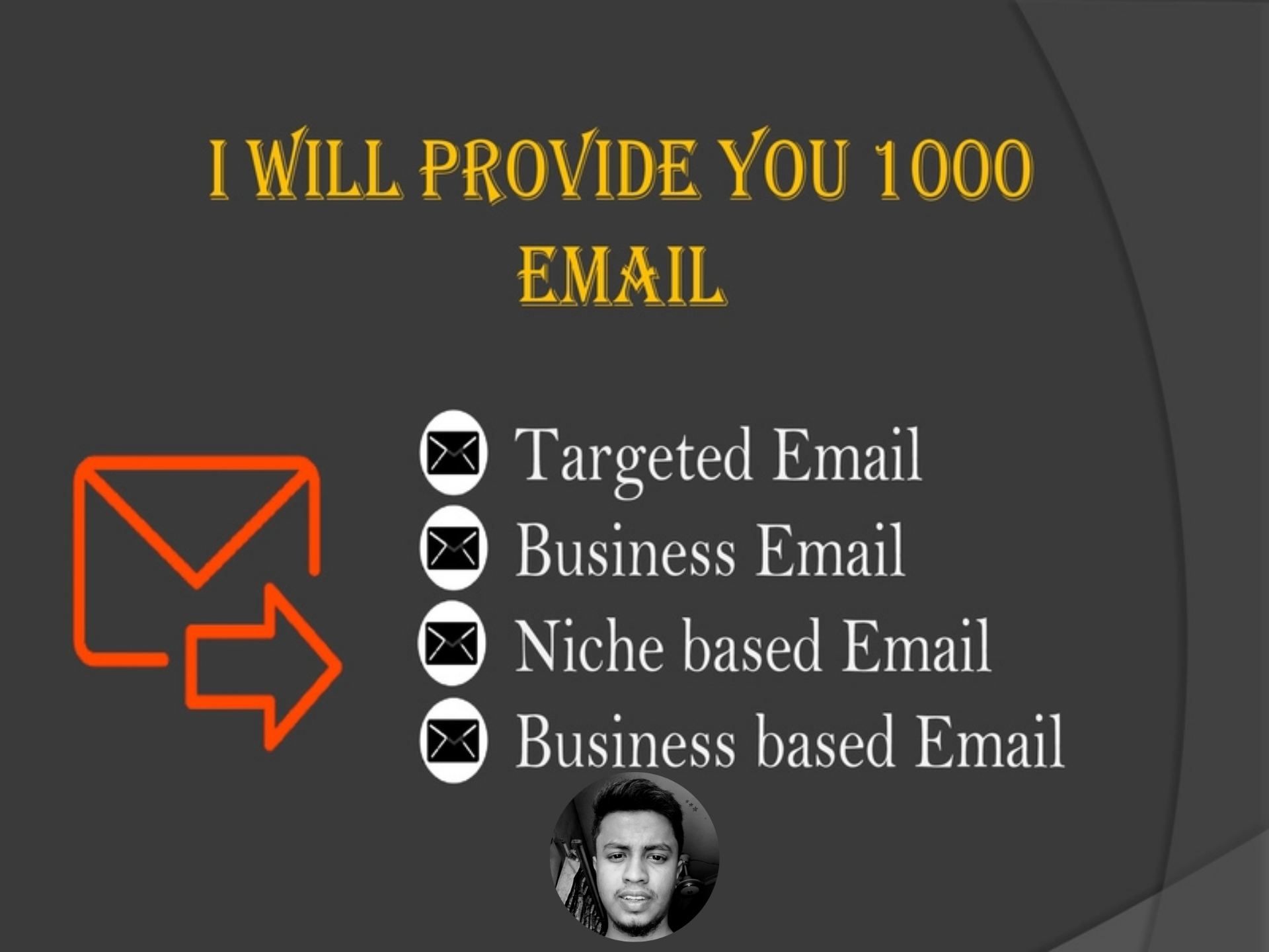 I will find you targeted email