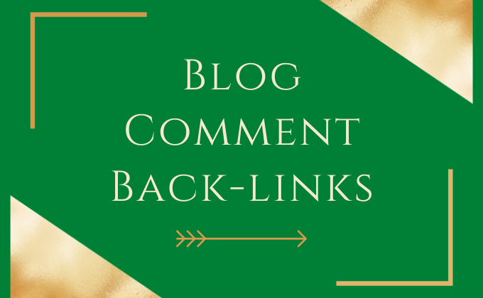I Will Create Manually High Quality Blog Comment Backlinks