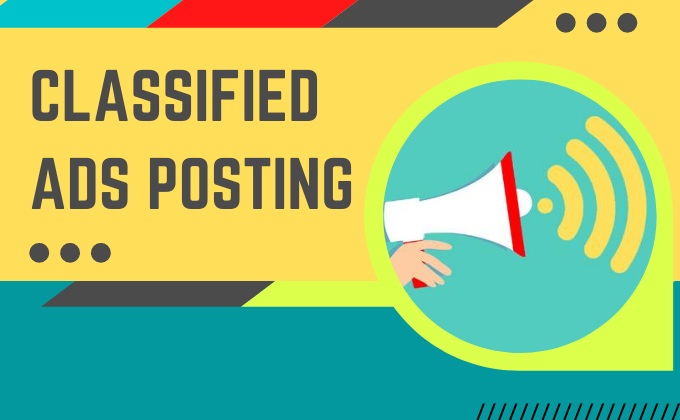I Will Do Perfectly Posting Your Service to Top Classified Ads Posting Sites