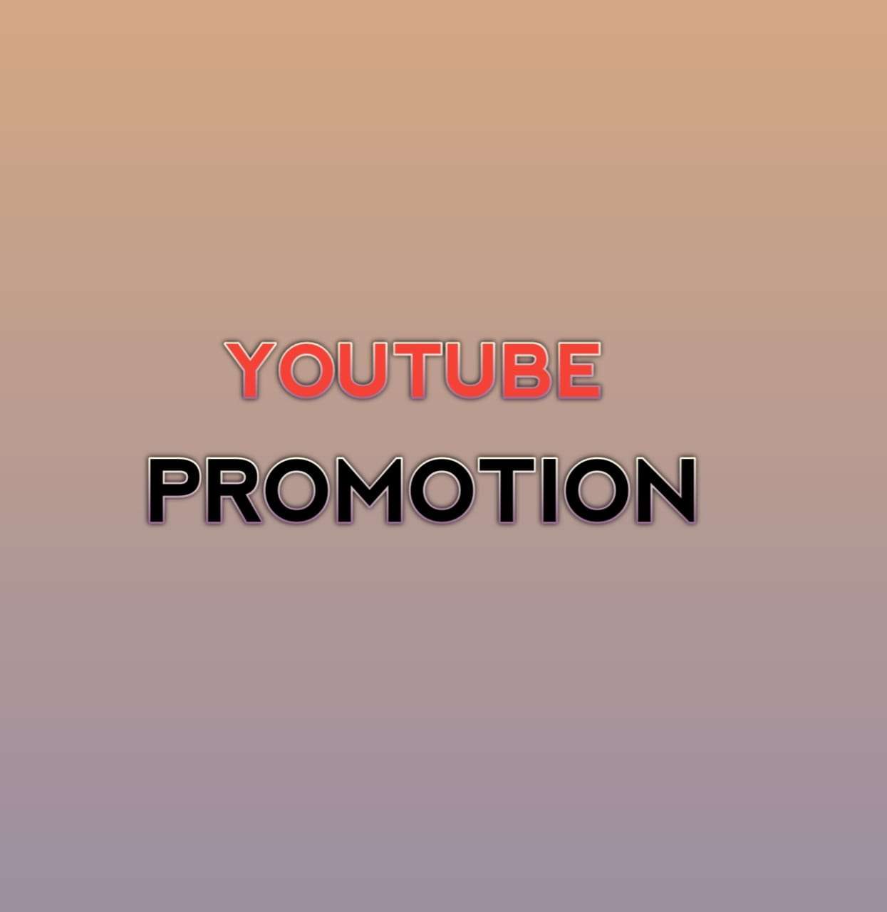 Permanent youtube video promotion Organic,  Real & Active