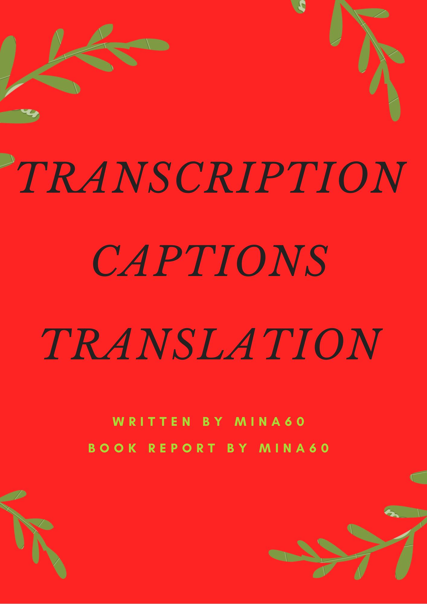 High quality audio video transcription & captions & translation
