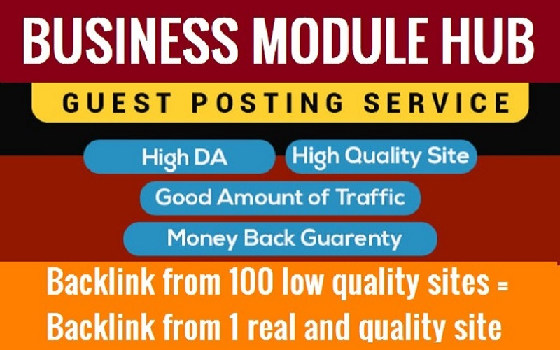 Add And/Or Write An Article On Businessmodulehub. Com 3k+ Traffic
