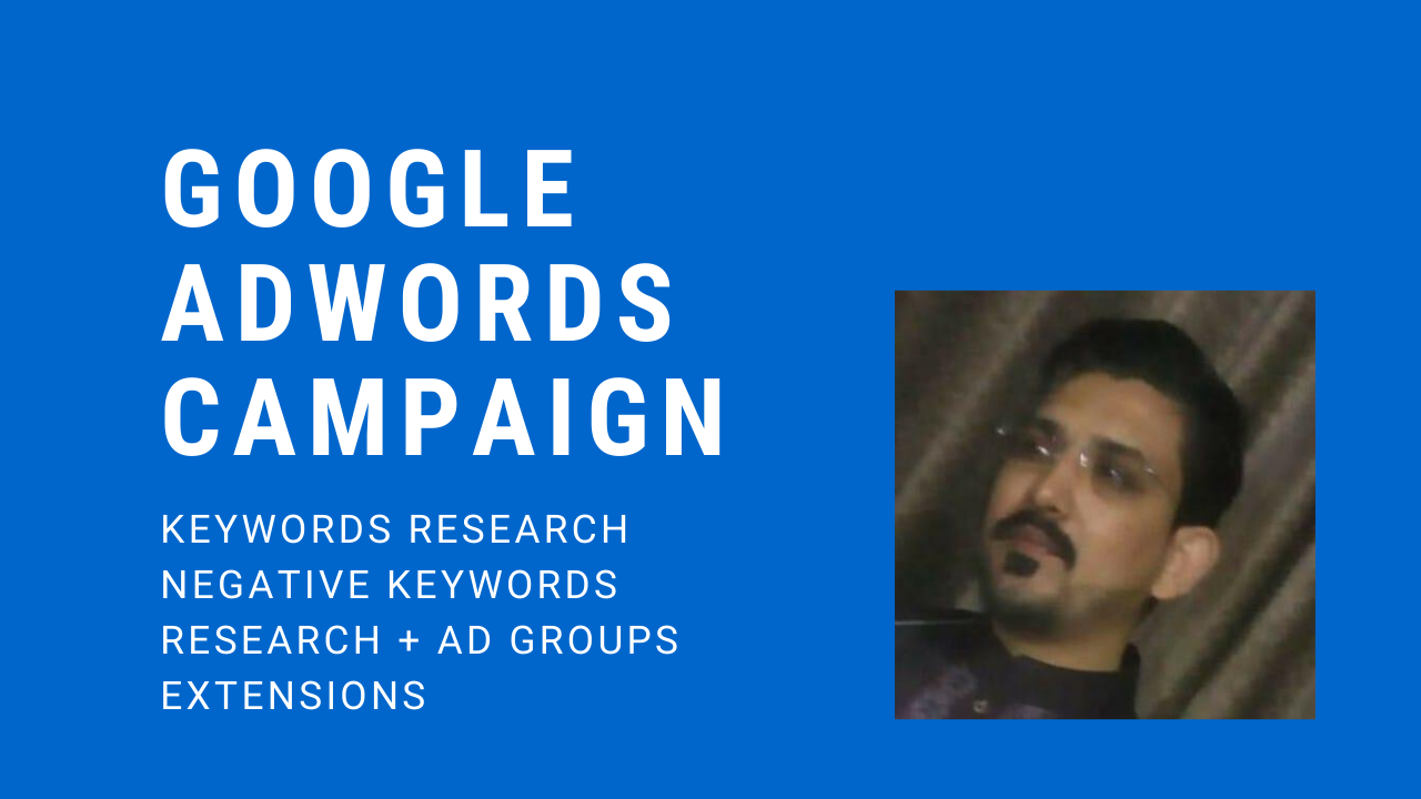 Create and Manage Google Ad words Campaign,  PPC Campaign