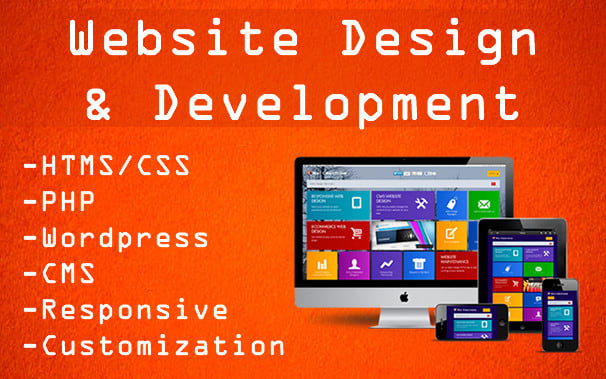 I will be your web designer and developer