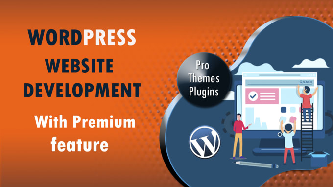 Design Best WordPress Website with Premium Feature