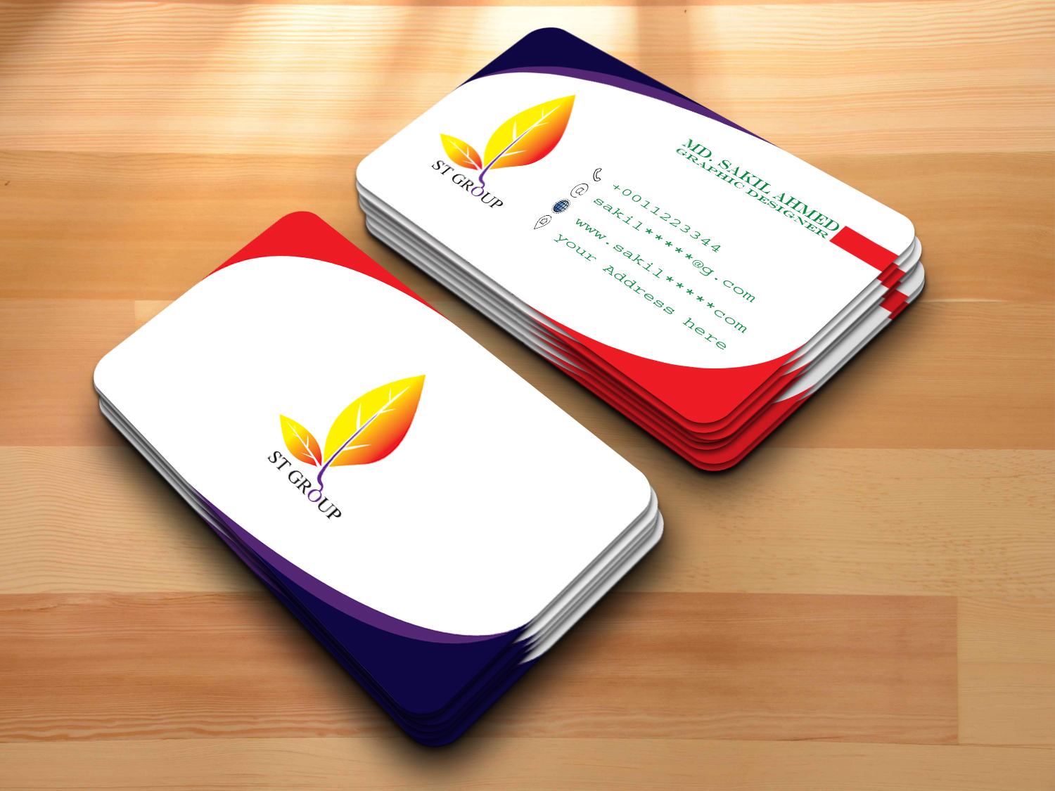 I will make Modern and Unique Business Card
