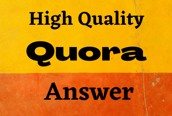 High quality traffic with 50 Quora answers