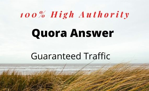 Promote your website 10 With High Quality Quora answer .