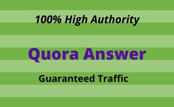 Provide you 20 High Quality Quora Answer.