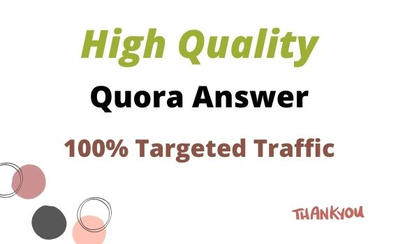 Promote Your Website With 5 High Quality Quora Answer