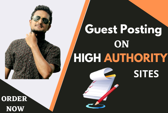 I will do 5 SEO guest post to shoot ur website ranking