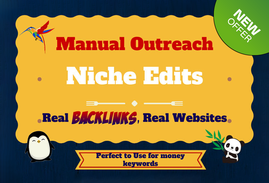 blogger outreach for high quality SEO Web 2 backlinks link building service