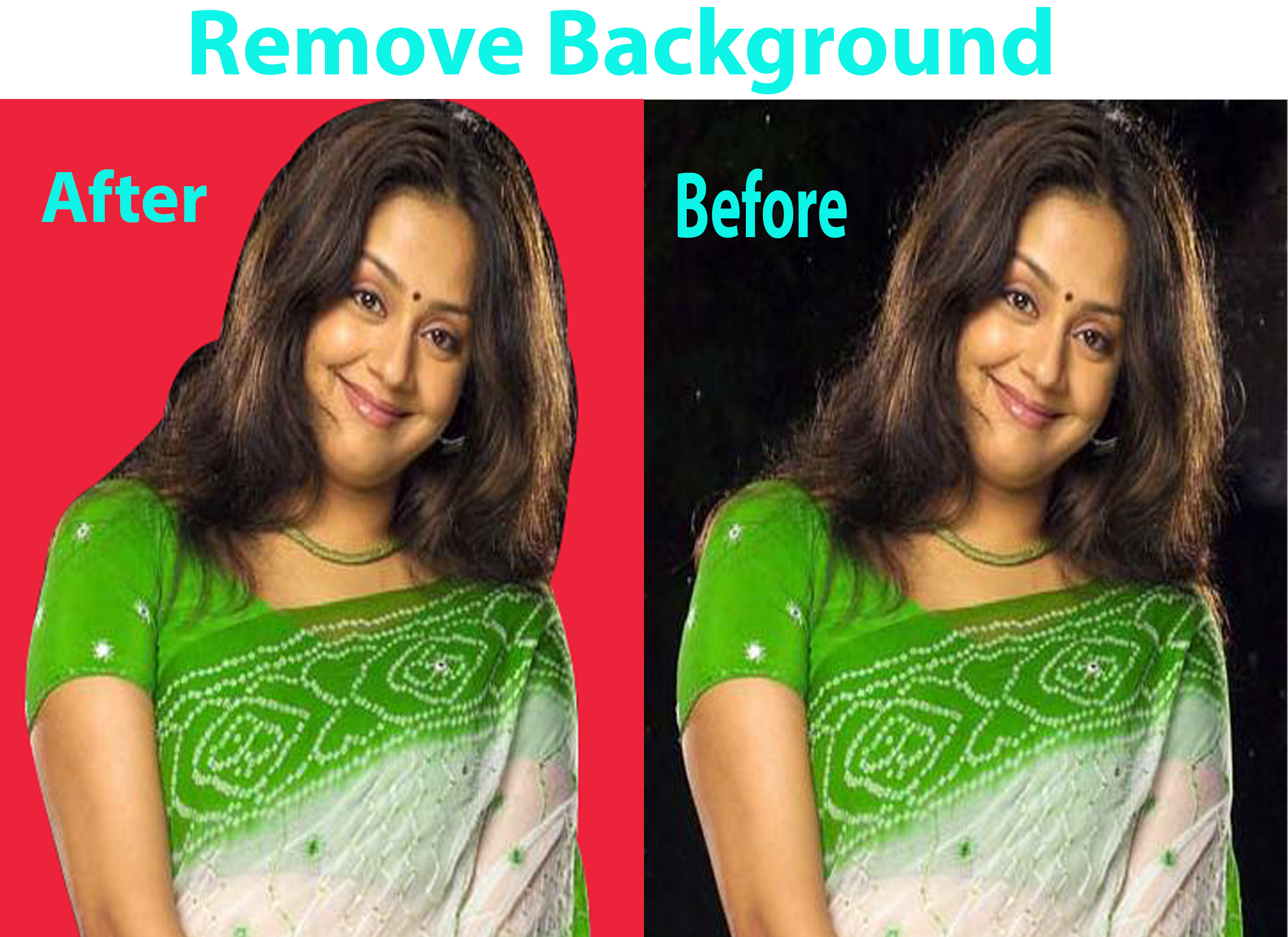I Will remove product,  photo & picture background professionally