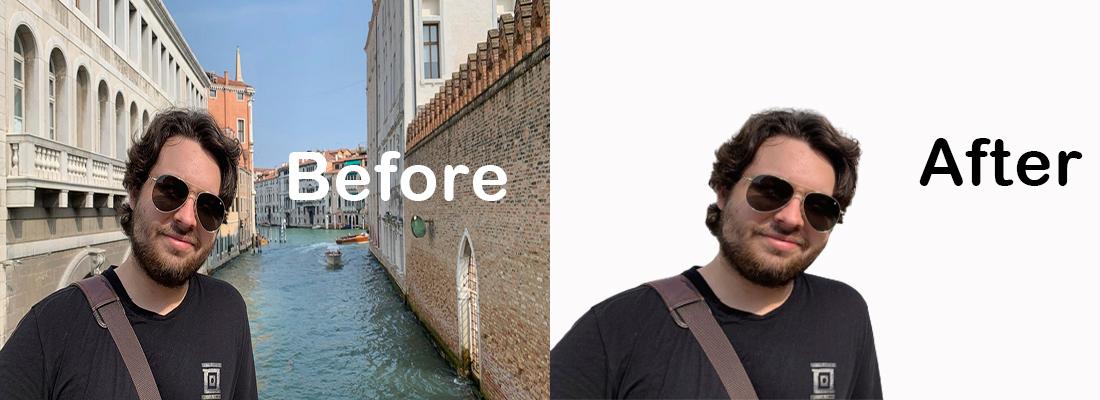 I will do background removing using adobe photoshop