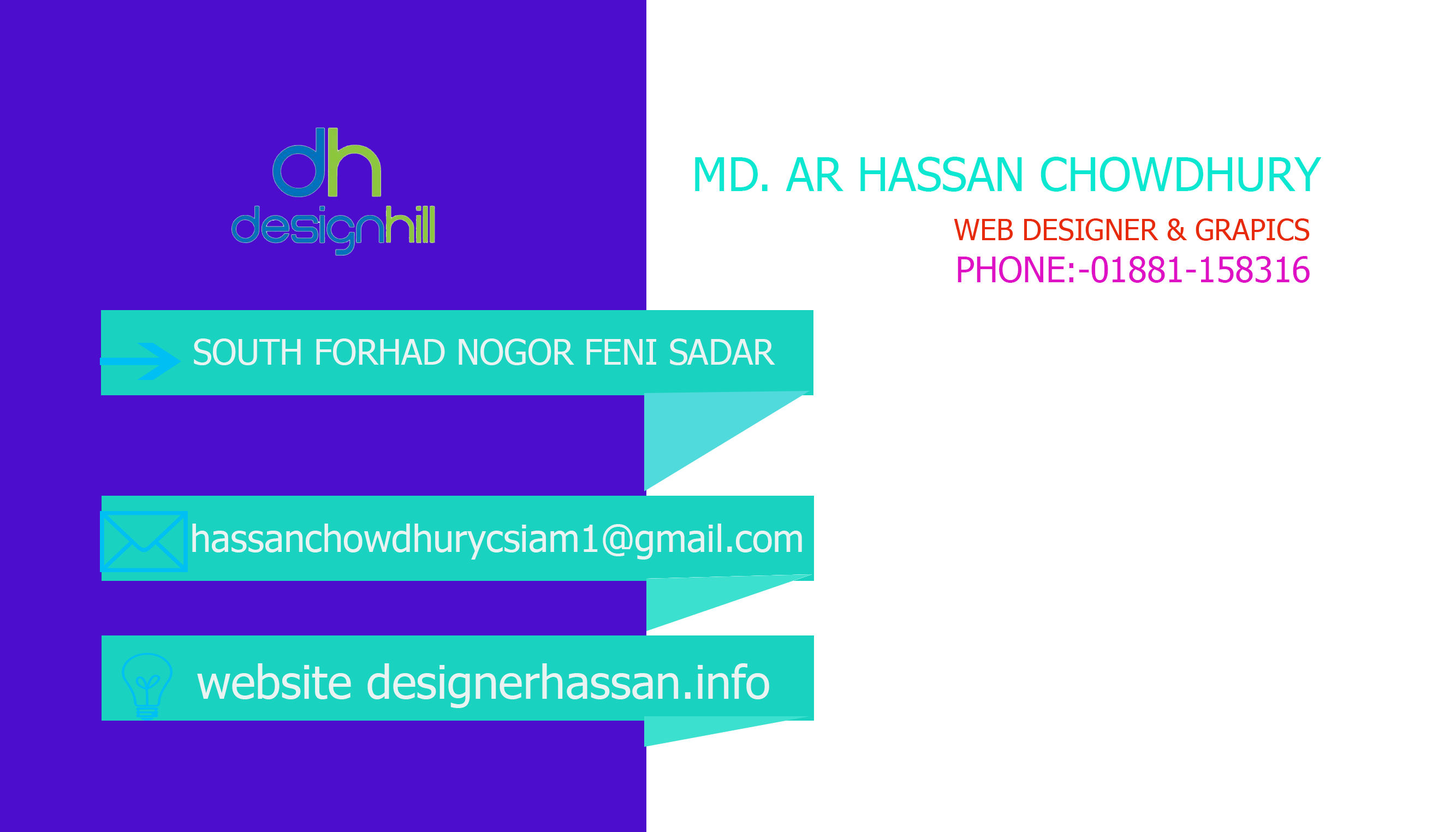 I will create nice business card design within 24 hours