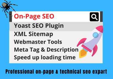 Do Complete on-page SEO & Technical Optimization