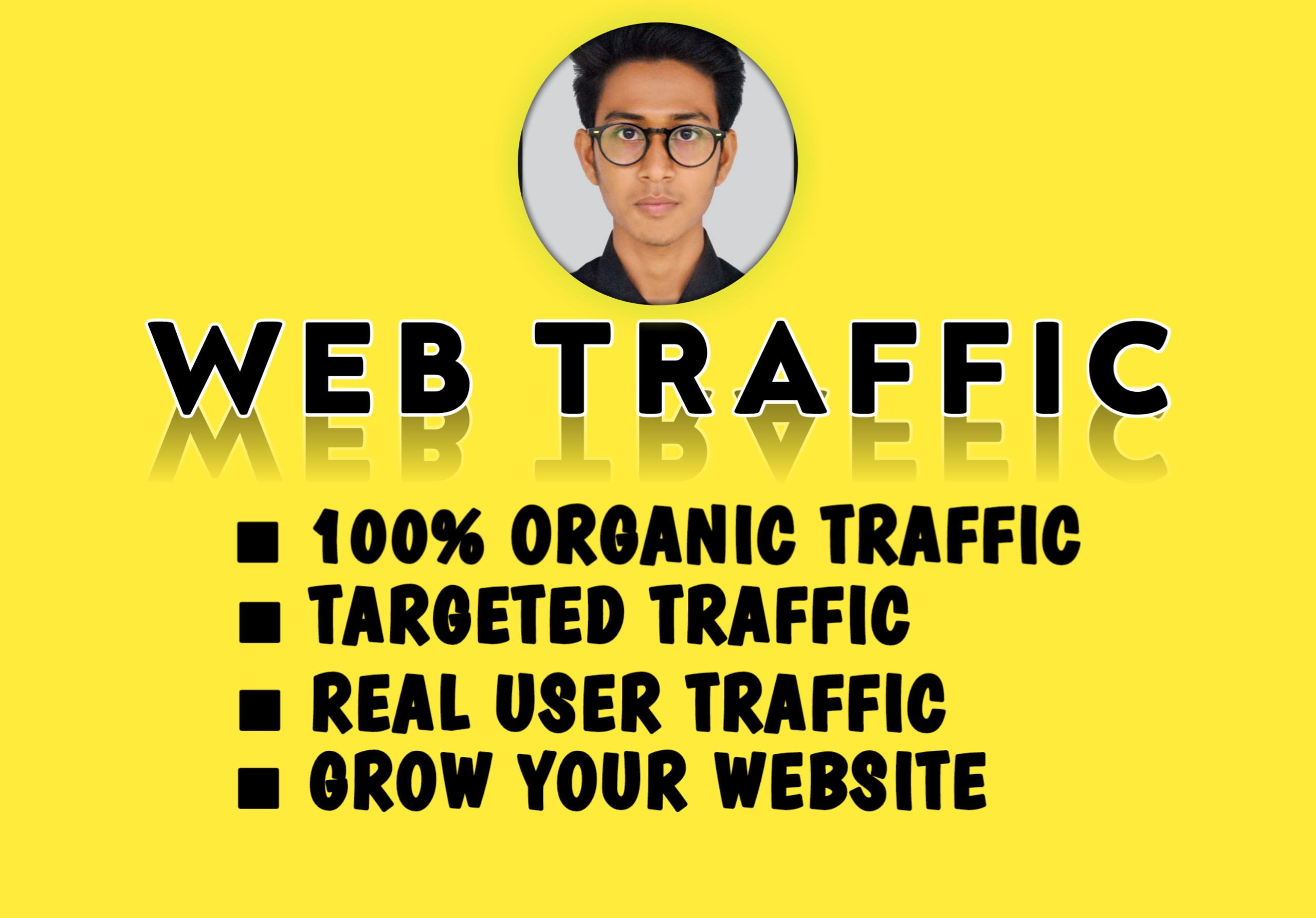 I will do provide you,  your usa web traffic on your website/ Blog