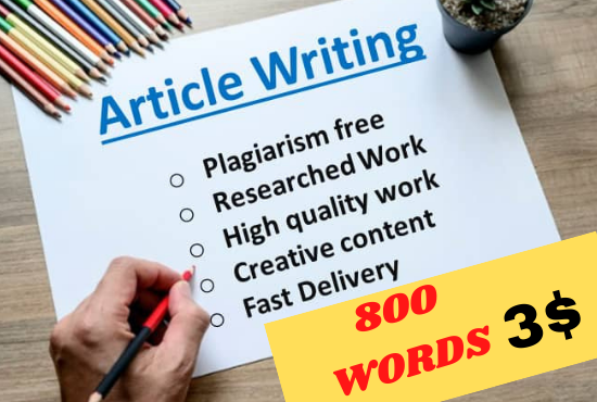 I will be your Professional SEO Article Writer for Article Writing