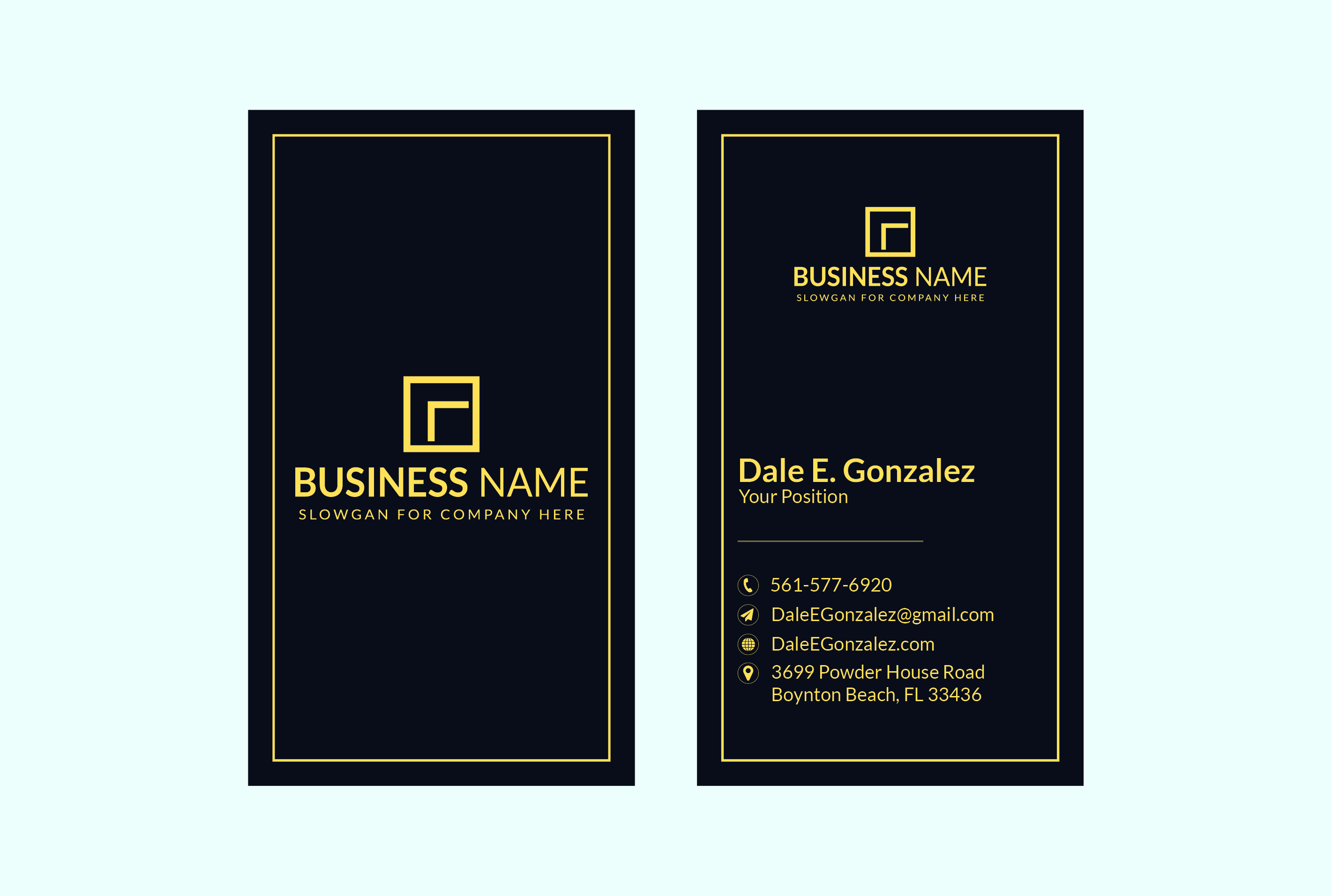 I will design outstanding luxury business card for you.