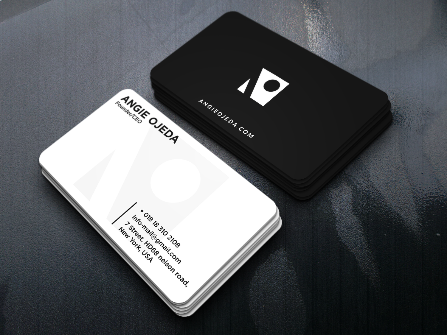 Modern Minimalist BUSINESS CARD