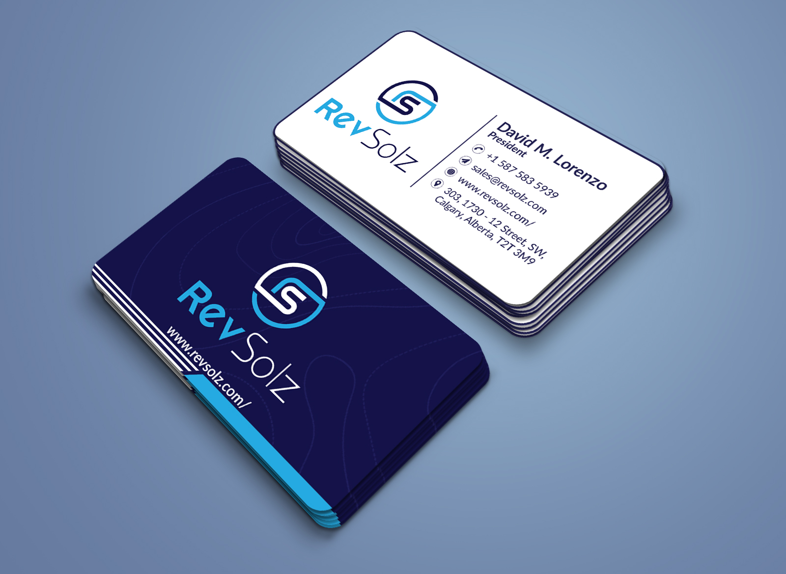 I will design unique double sided business card print ready files within 24hr
