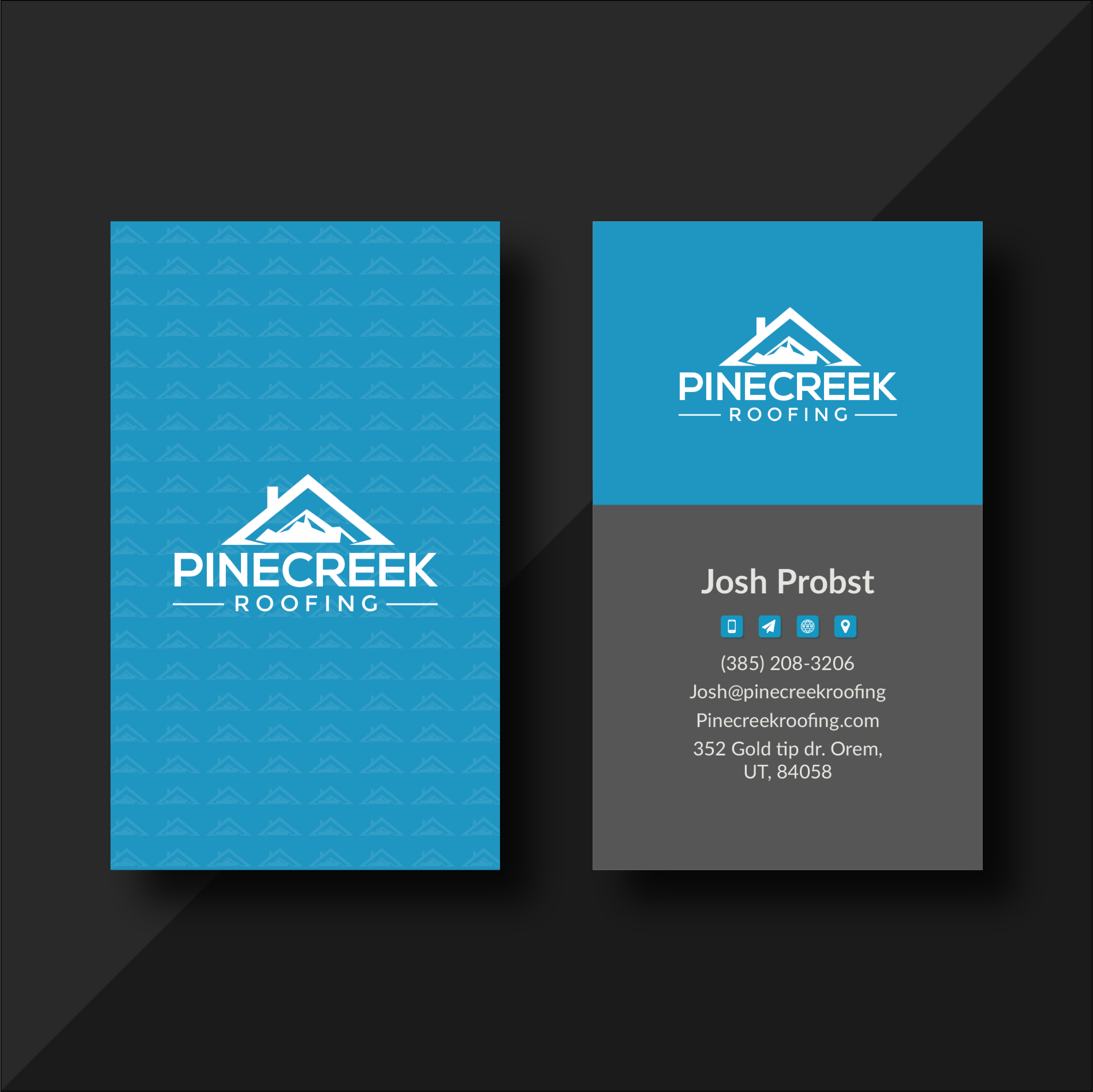 I Will Do Professional and Modern Business Card Design