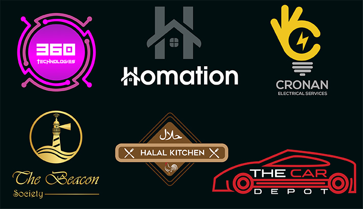 I will design creative modern minimalist luxurious business logo design in 12 hours
