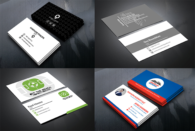 I will design simple and minimalist business card