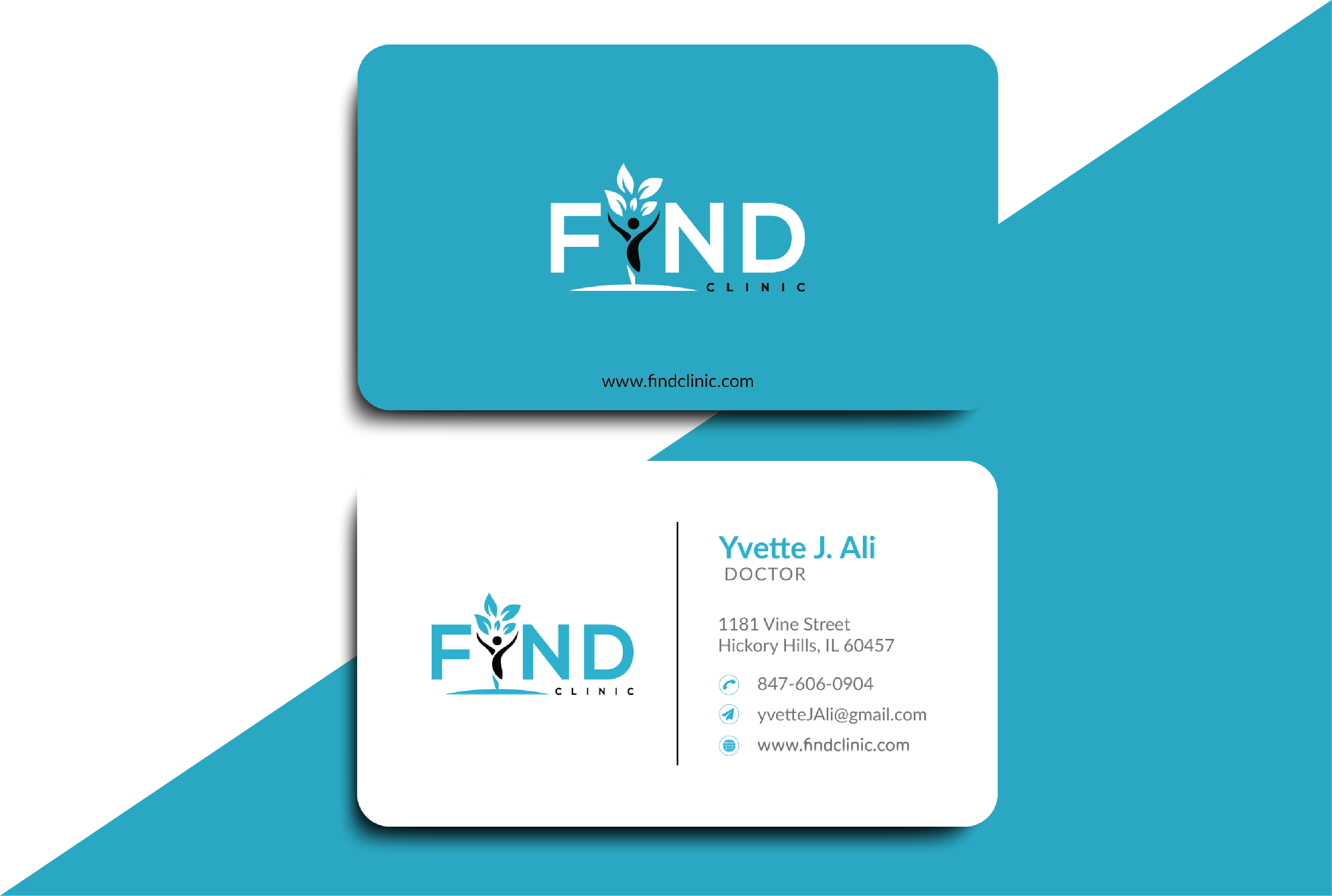 I will create modern business card design within 6 hours