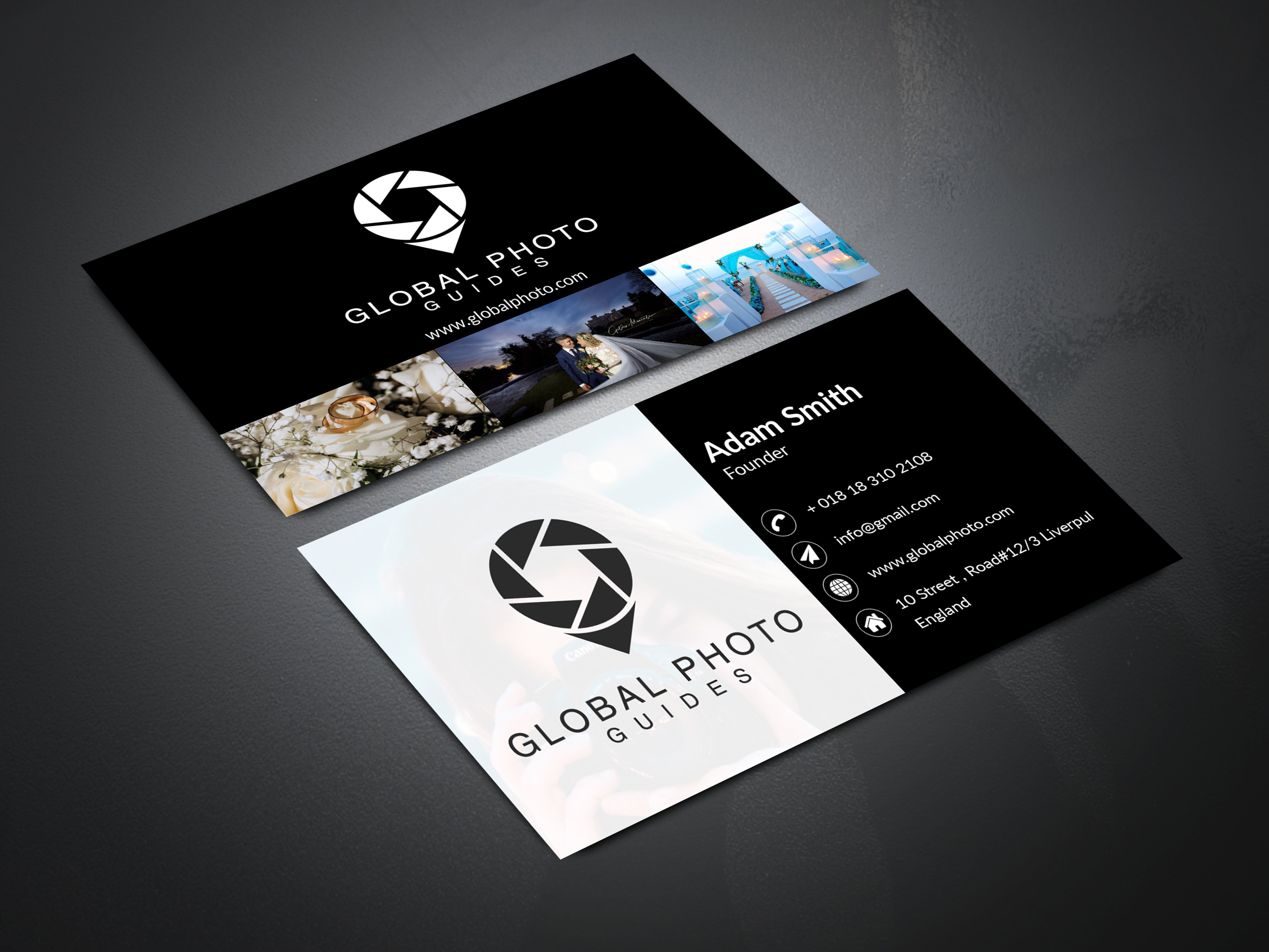 I will do Minimalist Business card design for you.