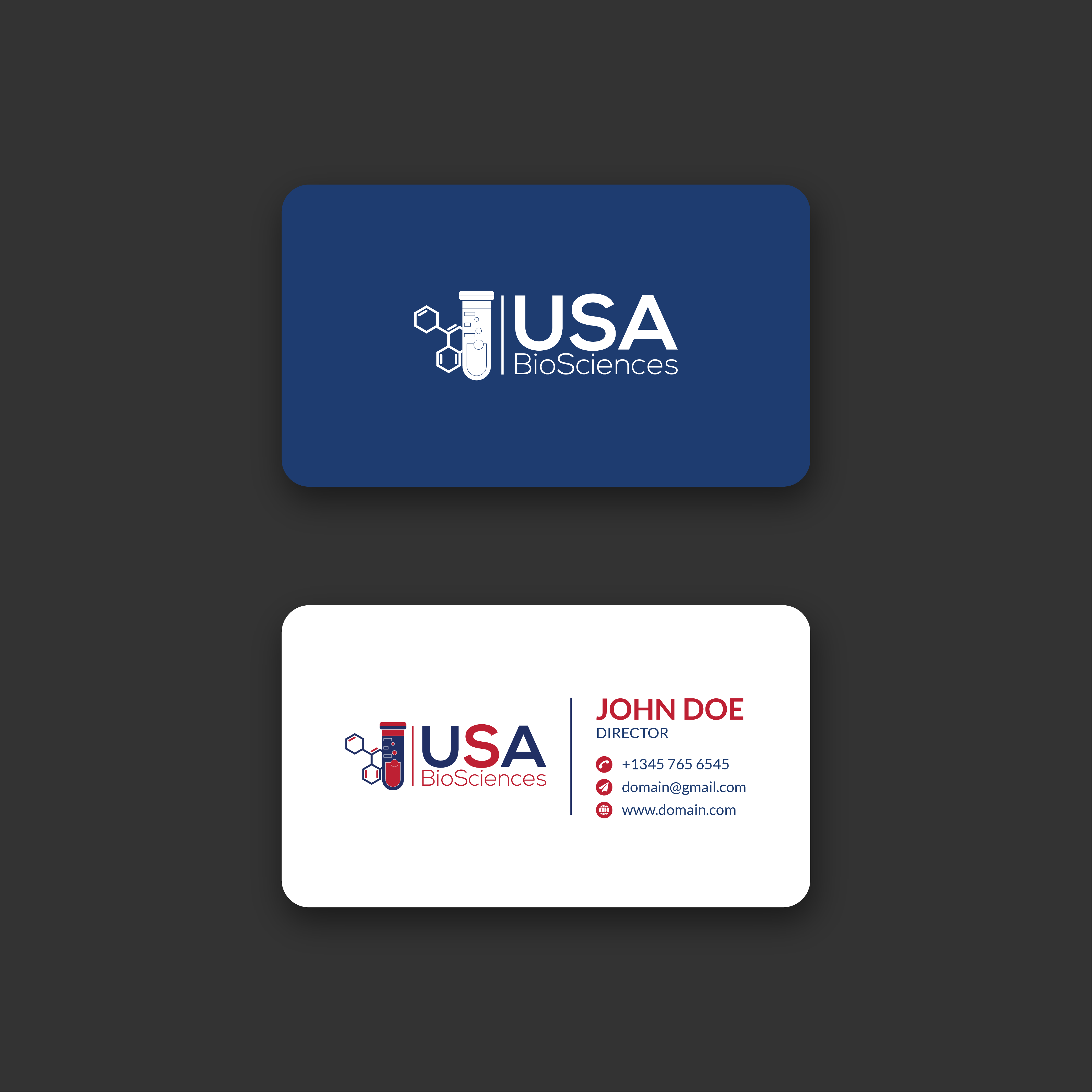 I will design a modern and unique business card for you