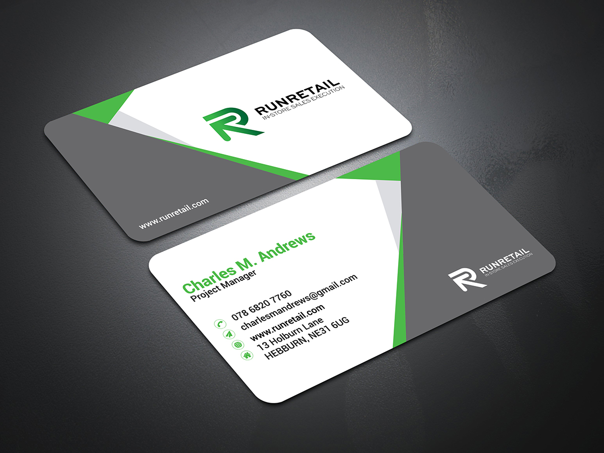I will do creative and professional business card design