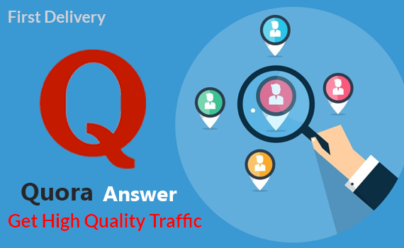 Give high quality Quora Answer with huge traffic.