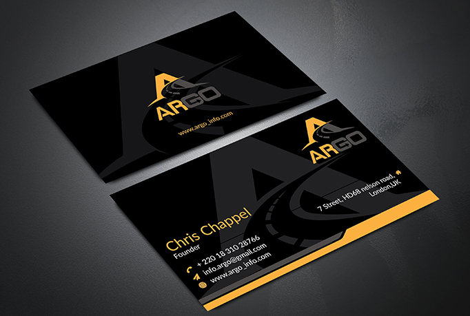 I will design minimal business card within 6 hours