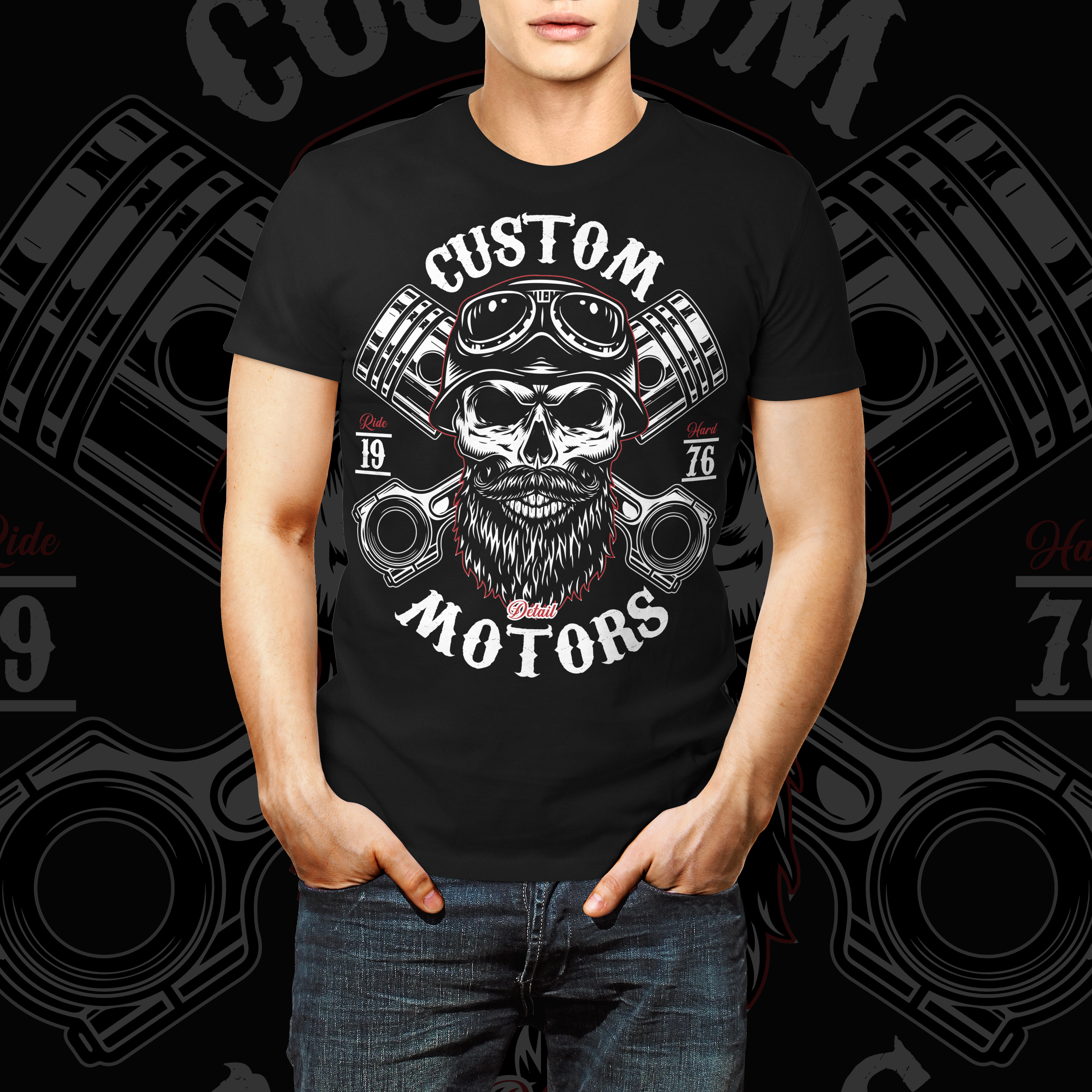 I will design modern T shirt within 6 hours
