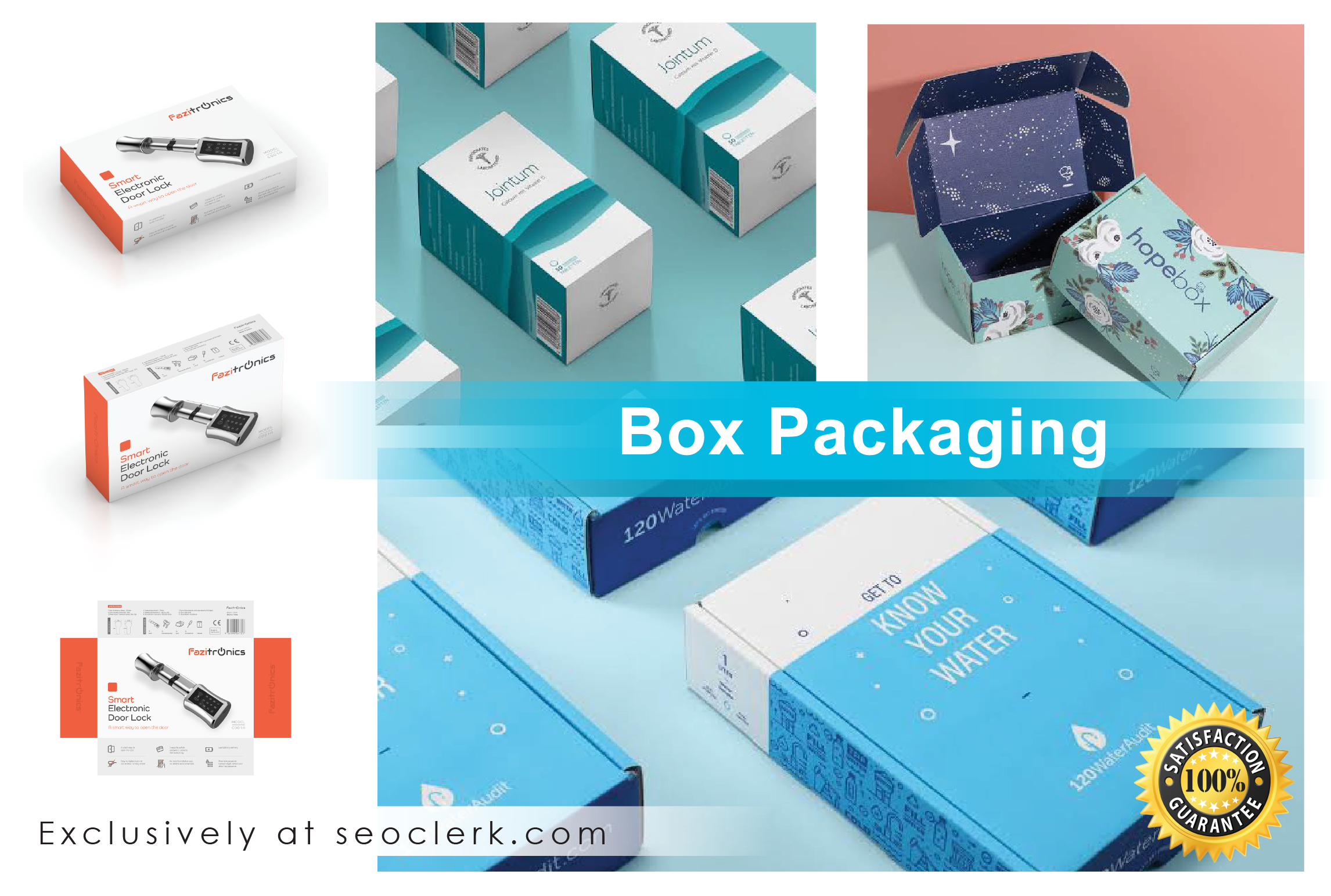 I will do Professional and Unique Packaging and Label Design
