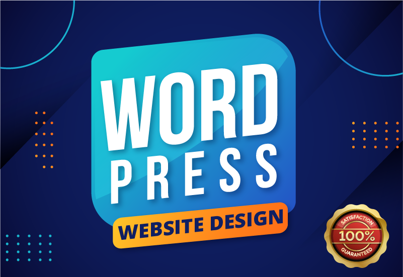 I will design professional and responsive business WordPress website