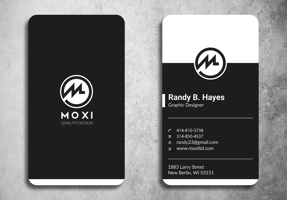 I will design professional and minimalist business card