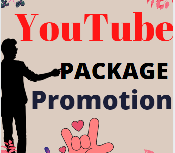 Best Quality YouTube video promotion via real human